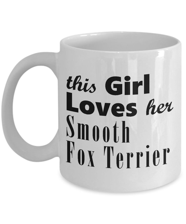 Smooth Fox Terrier - 11oz Mug