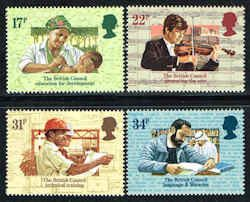 Great Britain #1067-1070 Stamps - Professions Stamps - EU GB 1067 to 1070-1