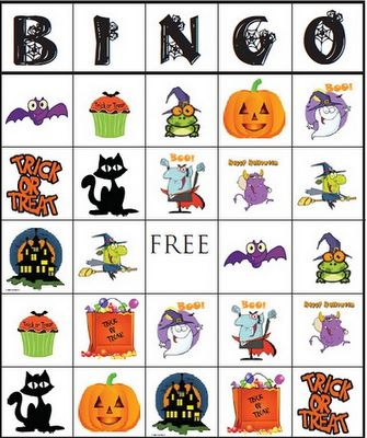 Printable Halloween Party Games ~ Be Different...Act Normal