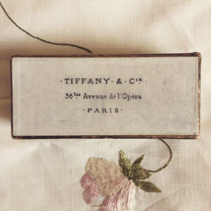Parisian Tiffany box