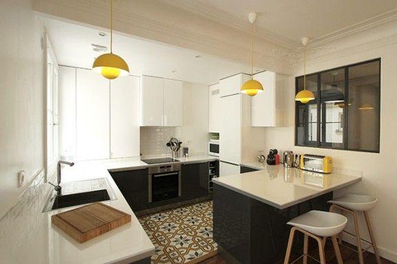 Un Appartement Haussmannien de 85m2 par CAMILLE HERMAND ARCHITECTURES - DECO-DESIGN - Blog Design / Magazine Décoration, Architecture & Design