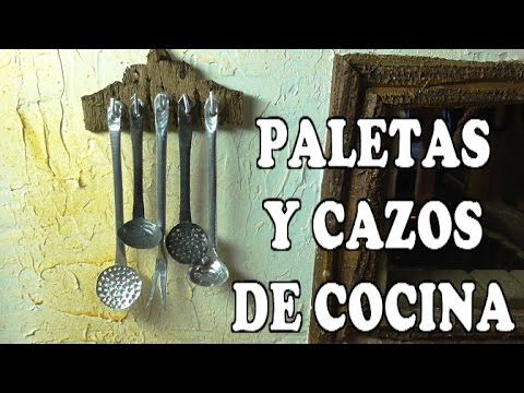 DIY CUCHARON Y PALETA PARA EL BELEN Y CASA DE MUÑECAS - SCOOP AN PALETTE FOR NATIVITY SCENE - YouTube