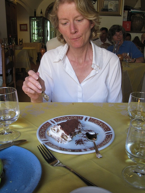 the best tiramisu ever - Trattoria Cumpa Cosimo - Ravello