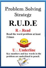 Image result for maths problem solving strategies
