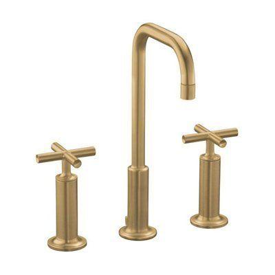 brass is back - Kohler Armaturen L Eingerieben Bronze