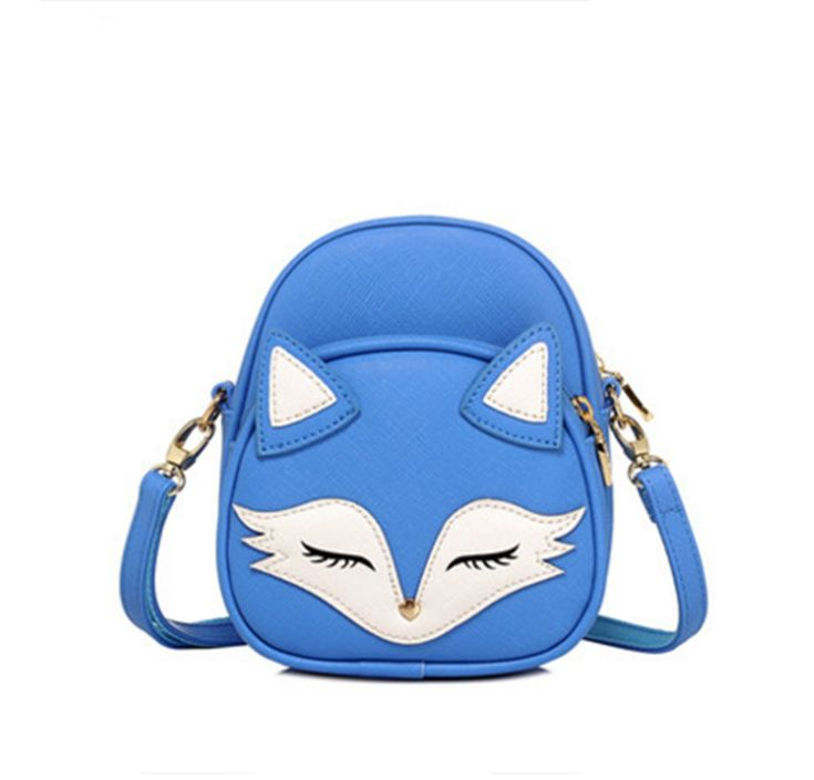 Cute Cat Shoulder Bags Fox Face   Tag a friend who would love this!   FREE Shipping Worldwide   Buy one here---> https://topcatworld.com/cute-cat-shoulder-bags-fox-face/