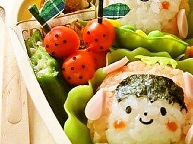 キャラ弁に ウインナーno苺 by twohearts レシピ ウインナー レシピ お弁当 かわいい