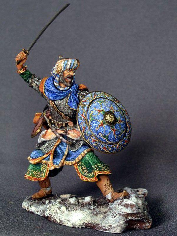 Saracen warrior, XI-XIV century, CE