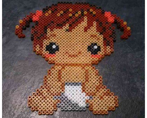 Baby Hama beads