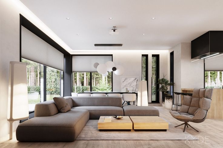 Fabulous house design with contemporary style... | Visit : roohome.com    #house #decoration #amazing #awesome #gorgeous #great #fabulous #unique #simple #elegant