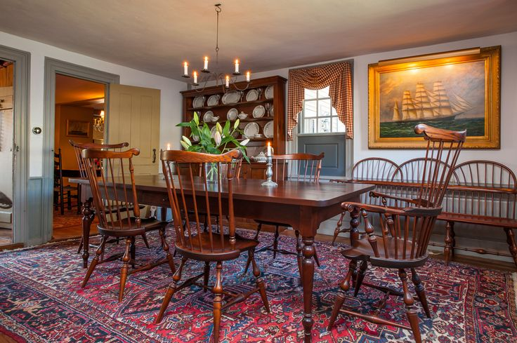 Colonial Dining Room Furniture: Live By Lake Saltonstall