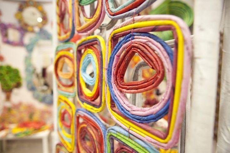 Decoração com jornal para a parede - Reciclar e Decorar - Blog de Decoração e Reciclagem
