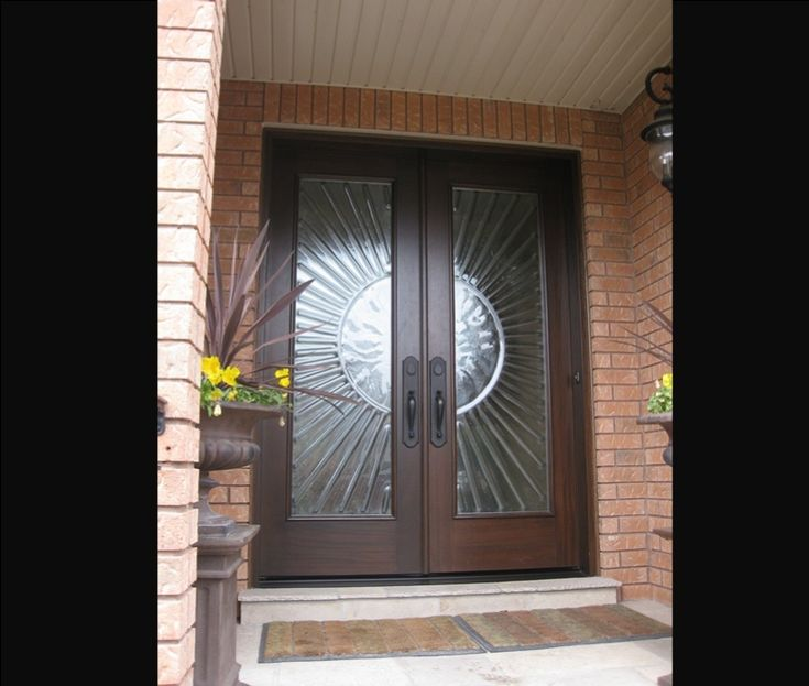 Best Double Entry Doors Images On Pinterest Front Doors