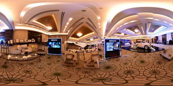 Panoramic view of World Luxury Expo, Doha #2