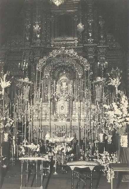 Ceremonia y rúbrica de la Iglesia española - Monumento de Semana Santa - Semana Santa