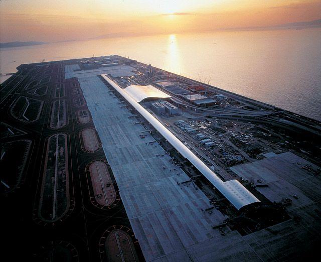 Renzo Piano 1998 Laureate, Kansai International Airport Terminal, Osaka, Japan, 1994 #architecture
