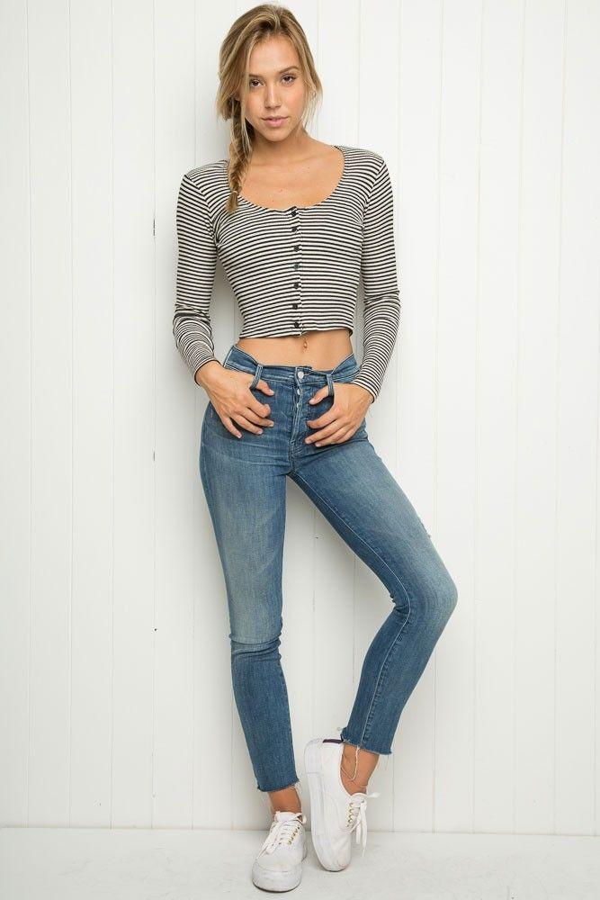 Brandy ♥ Melville | Linda Top - Knits - Tops - Clothing
