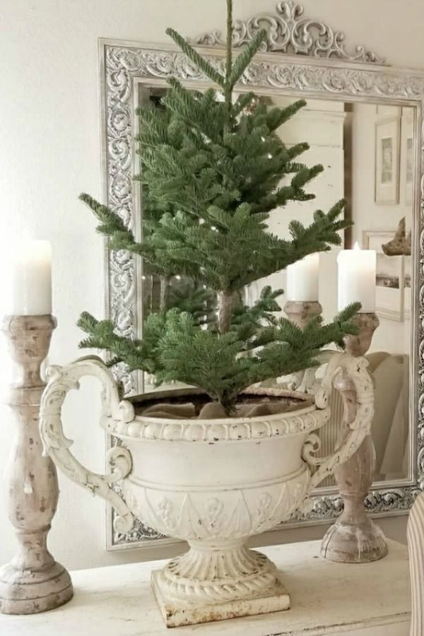 French Farmhouse Christmas Decor Inspiration
