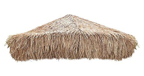 Mexican Palm Thatch Umbrella Cover 9' > Covers 8-8 1/2 Foot Diameter Round Structures Made from Mexican Thatch Hand-woven Palm Leaf Check more at http://farmgardensuperstore.com/product/mexican-palm-thatch-umbrella-cover-9/