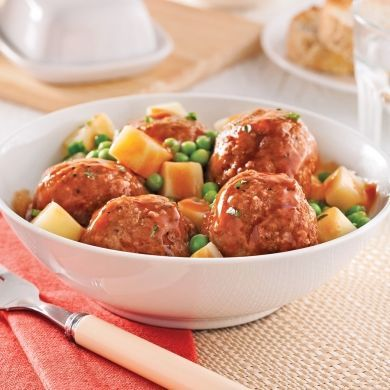 Casserole de boulettes de veau - Soupers de semaine - Recettes 5-15 - Recettes express 5/15 - Pratico Pratique