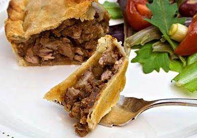 Meat Pie, Kefalonia, Greece