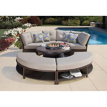 Attractive Fresno 5 Piece Fire Chat Set