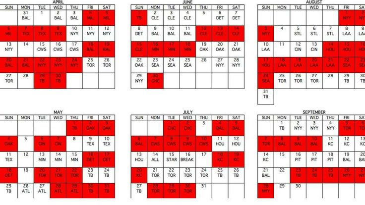 2014 Red Sox Schedule- Boston for my birthday, anyone?