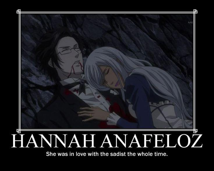 DP: Hannah Anafeloz by dark-Reality-04.deviantart.com on @deviantART . no. No. NO. NO? NO! NO!! NO!!! NOOOOOOOOOOOOOOOO! wut.