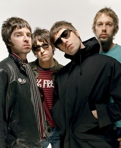 Oasis (Noel, Gem, Liam, and Andy)
