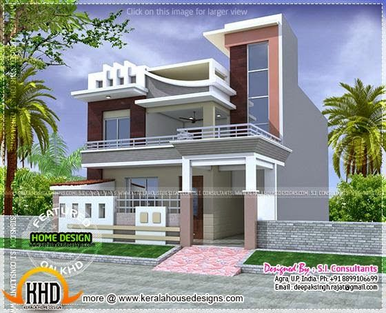 Kerala home design and floor plans: 2500 to 3000 Sq Feet