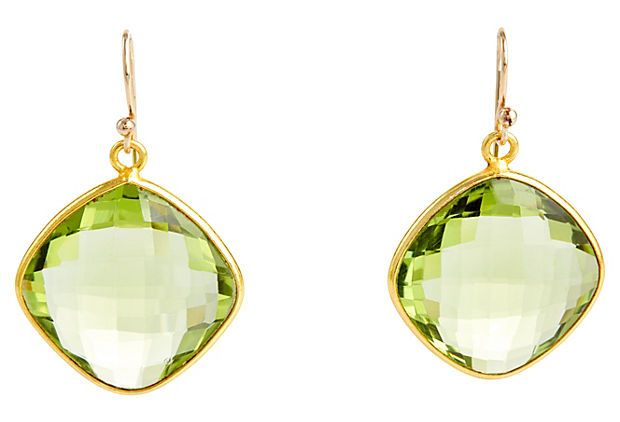 Moss Green Topaz Cushions on OneKingsLane.com