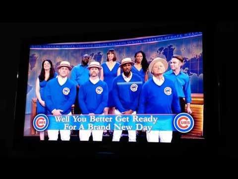 Weekend Update: Chicago Cubs and Bill Murray - SNL - YouTube