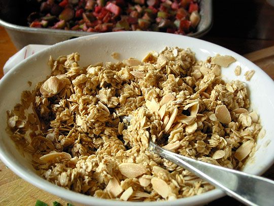 Cooking Without Recipes: How To Make Streusel or Crumble Topping for Baked Fruit