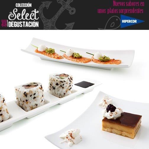 La colección de platos Select by Quid para presentar tus tapas y creaciones más espectaculares. A la venta en Hipercor