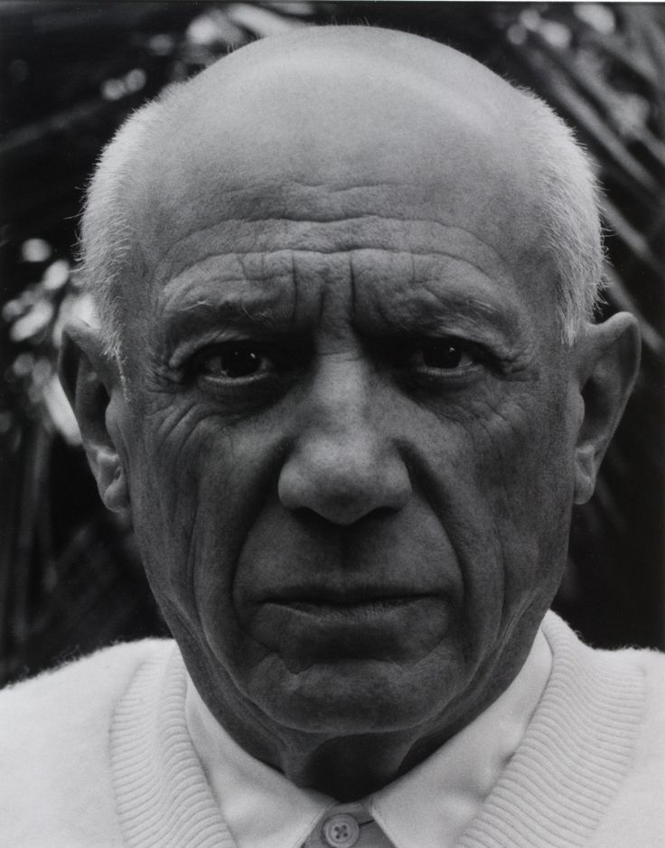 Pablo Picasso | by Paul Strand, Cannes, Alpes-Maritimes, France, c1956