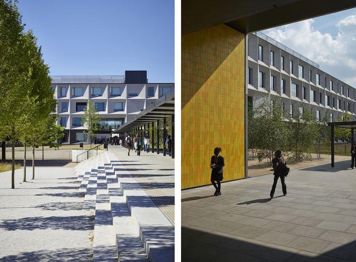 L'accesso al campus scolastico © Tim Soar