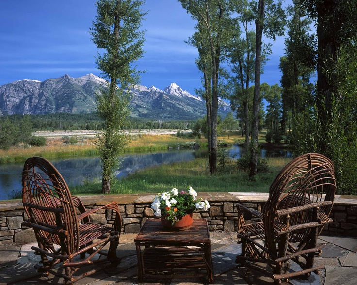 30 best images about design ideas for the rockies on for Red chair design jackson wy