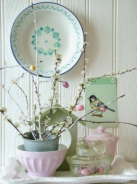 Easter Inspirations * Inspirações Para a Páscoa - by http://home-styling.blogspot.pt