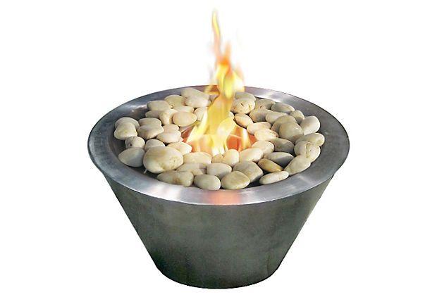 """14"""" Oasis Tabletop Fireplace w/ Fuel on OneKingsLane.com"""