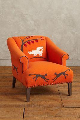 Kit Kemp Folkthread Fauntastique Armchair #anthroregistry