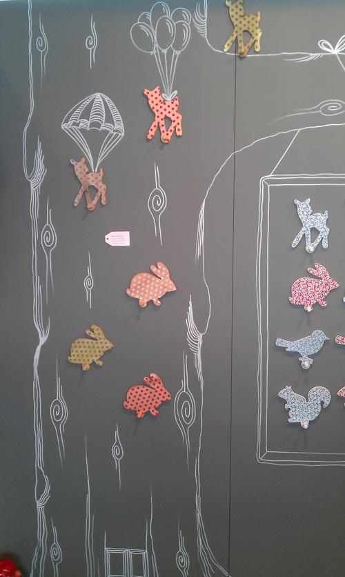 Down to the Woods: Craft Stall, Kids Spaces, Kiddos Rooms, Fabric Wall, Nursery Kids, Kids Sleep, Kids Rooms
