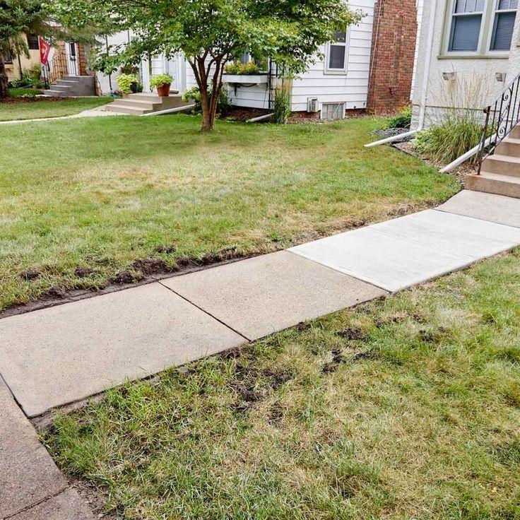 Resurfacing a Sidewalk is Easy to DIY Sidewalk repair