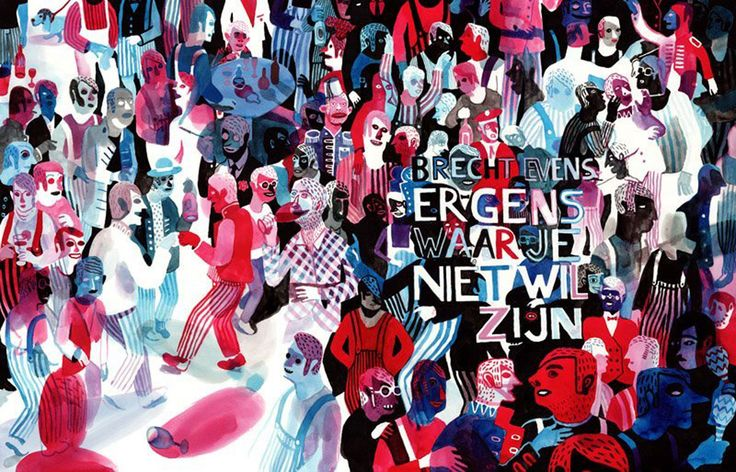 Brecht Evens: Somewhere where you don't want to be