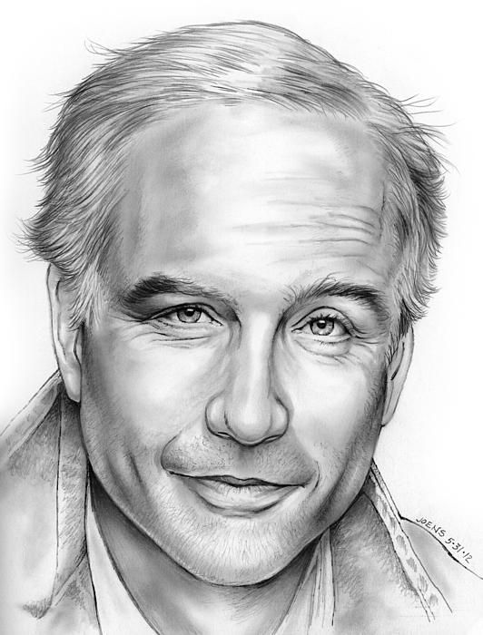 Drawing actor richard dreyfus by greg joens find this pin and more on fine art america