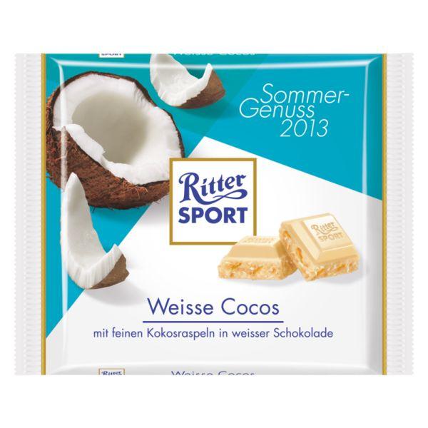 RITTER SPORT Weisse Cocos (2013)