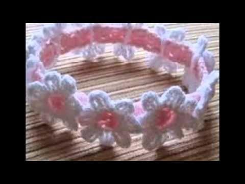 #Crochet Cute Baby Crown Tiara #TUTORIAL CROCHET BABY DIY FREE - YouTube