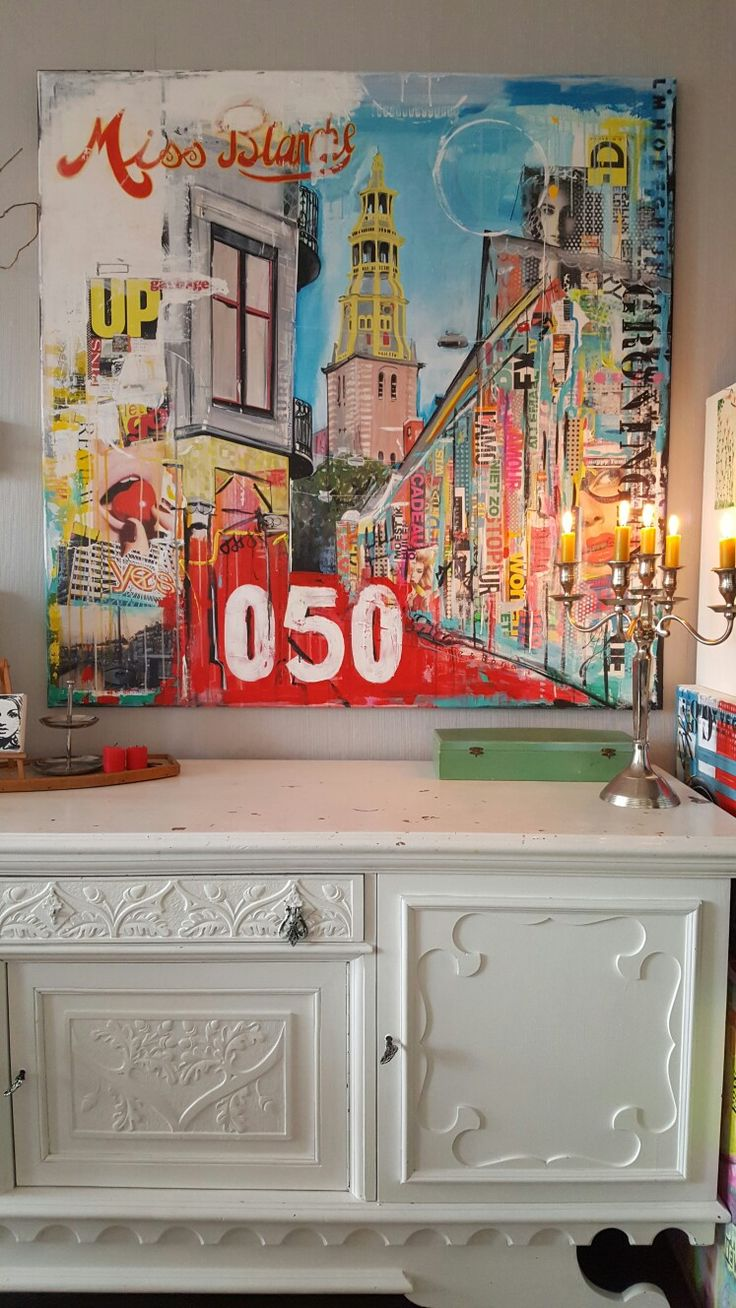 Big painting in my home/ Janet Edens