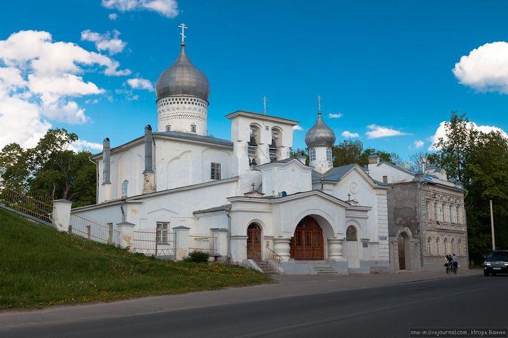 Первоначально Варлаамская церковь была деревянной, но в 1495 году была перестроена из камня. © Игорь Ванин, 2012–2014