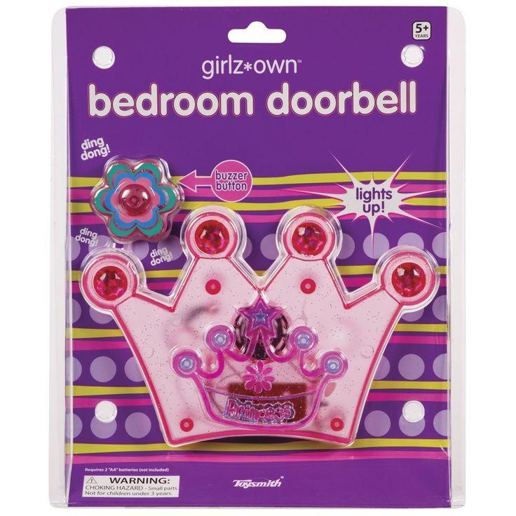 Toysmith Princess Bedroom Doorbell