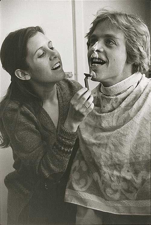 Carrie Fisher and Mark Hamill | Rare and beautiful celebrity photos